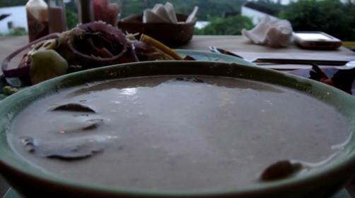本日のスープ〜マッシュルームのポタージュ〜