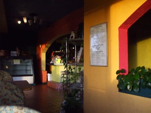 コーヒーケアの店内