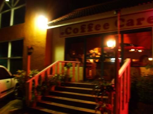 コーヒーケア玄関