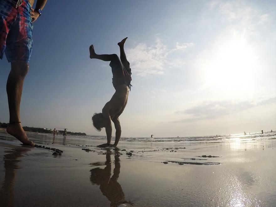バリ島のクタビーチで何も考えずにのんびり休日
