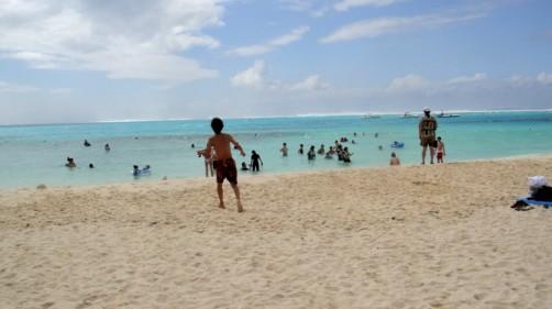 Enjoyマニャガハ島!サラサラ砂で船を作ろう&ボートに乗ってシュノーケリング!