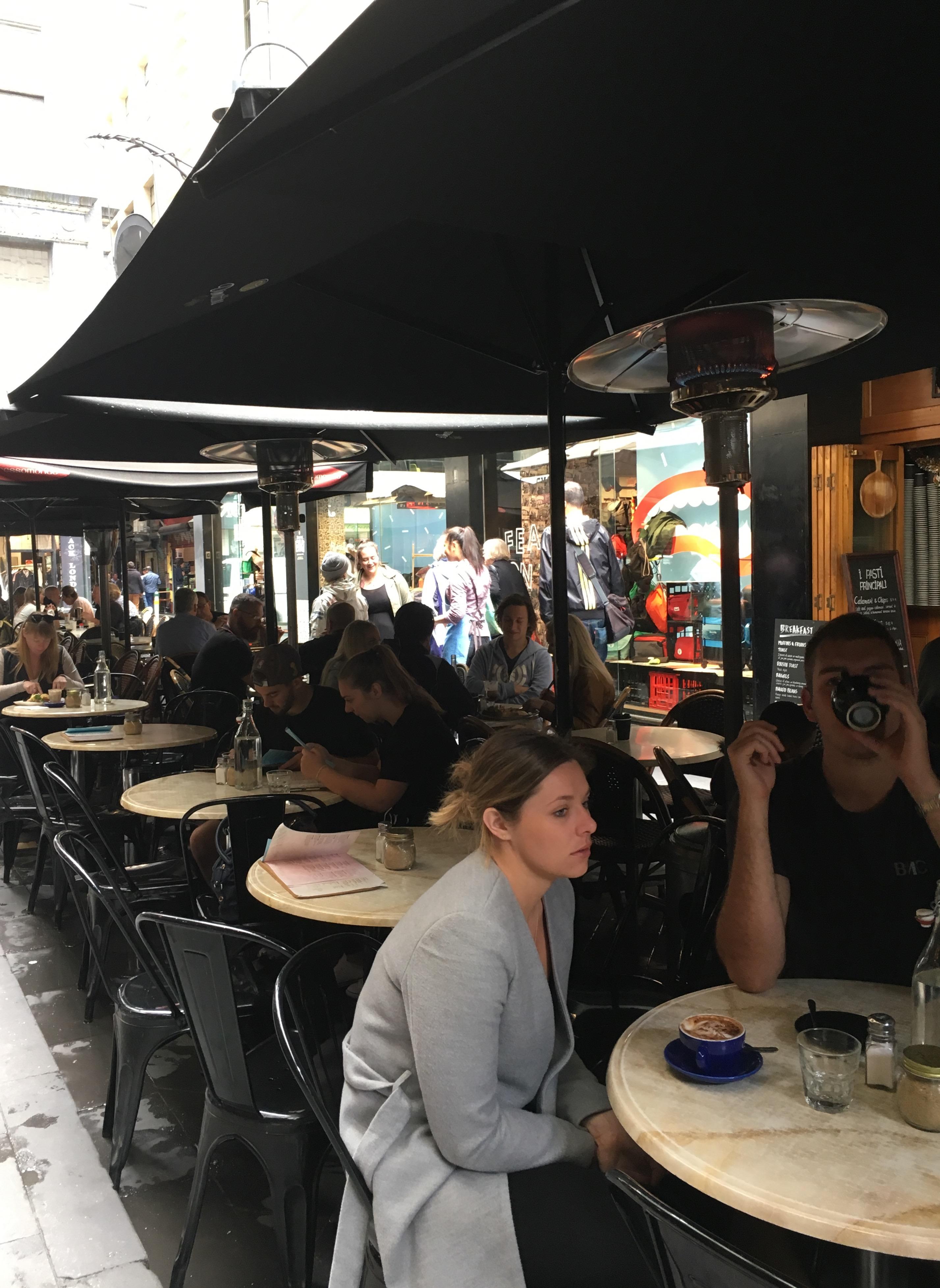 メルボルン カフェ